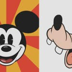 CSS3 Comic Characters – CSS3 Mickey Mouse, Goofy