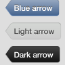 arrow button in pure CSS & HTML iOS 6  | CSS3 HTML5 Back button